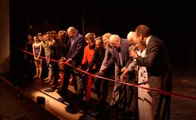 "GRAND RAPIDS PRESS HEADLINE: ""BALLET COMPANY'S NEW THEATRE TAKES A BOW"""