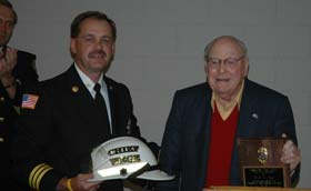 GRAND RAPIDS' FIRST HONORARY FIRE CHIEF: PETER M. WEGE