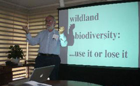 U of P Biologist Discusses Costa Rica and Species Bar Coding
