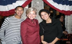 Wege Foundation Sends Students to Inauguration