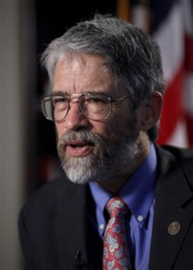 Dr. John P. Holdren   The March 15, 2010 issue of The University Record, a University of Michigan newspaper describes the annual Peter M. Wege Lecture: The Wege Lecture, one of U-M's most visible annual events, is open to the public and the academic community. It addresses important sustainability challenges facing society such as energy security, global climate change, ecosystem degradation and sustainable development strategies – with a focus on improving the systems for meeting human needs in developed and developing countries.
