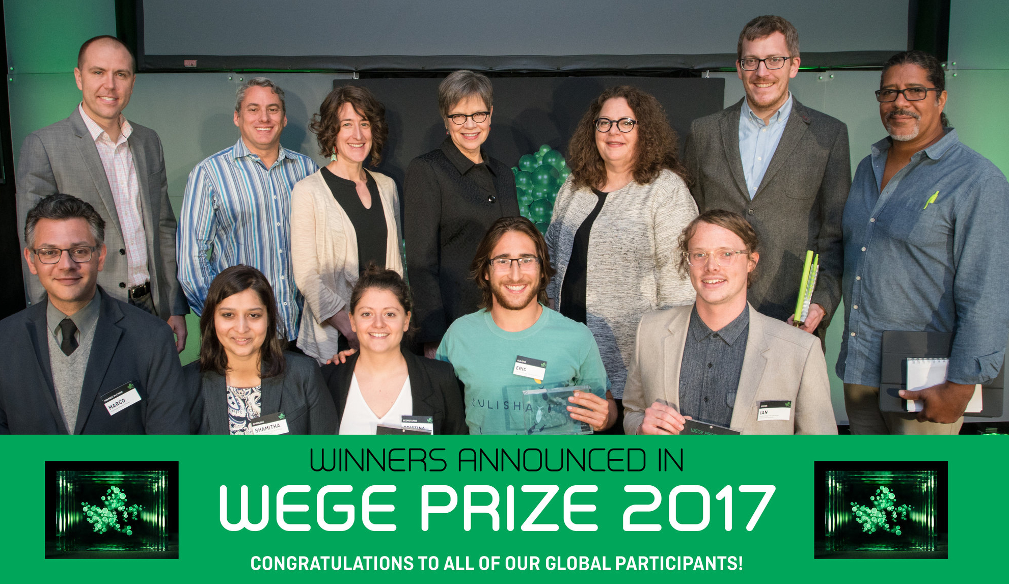 Wege Prize Winners Announced 2017