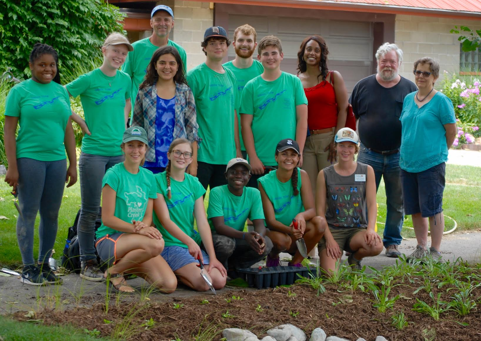 Green Team Teens Dig In to Heal Their Watersheds